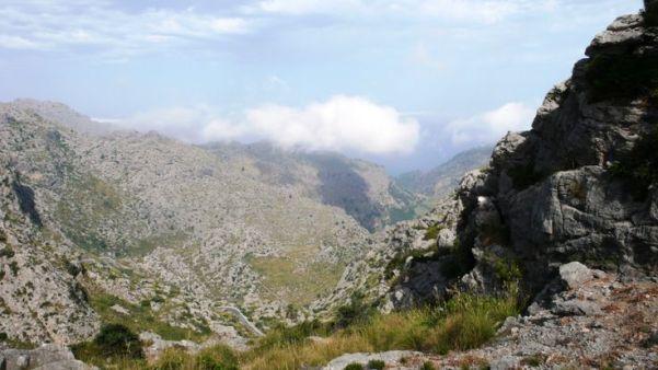 Tramuntana mountain