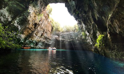 Greek Island Experiences - The Cave of Melissani on Kefalonia