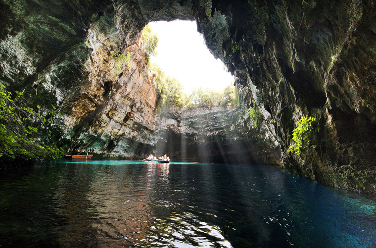 The Cave of Melissani on Kefalonia