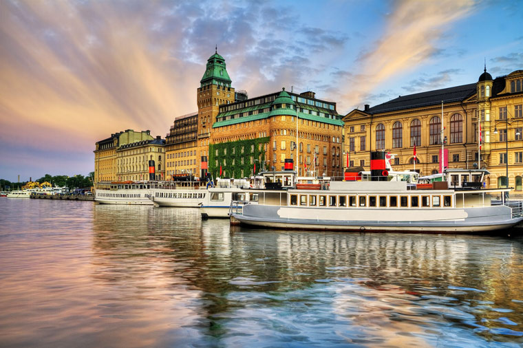 Stockholm Sweden Green City