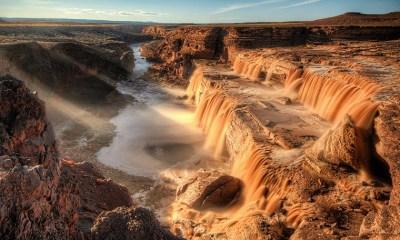 chasing waterfalls - Chocolate Falls