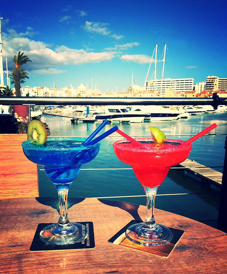 Cocktails in Vilamoura