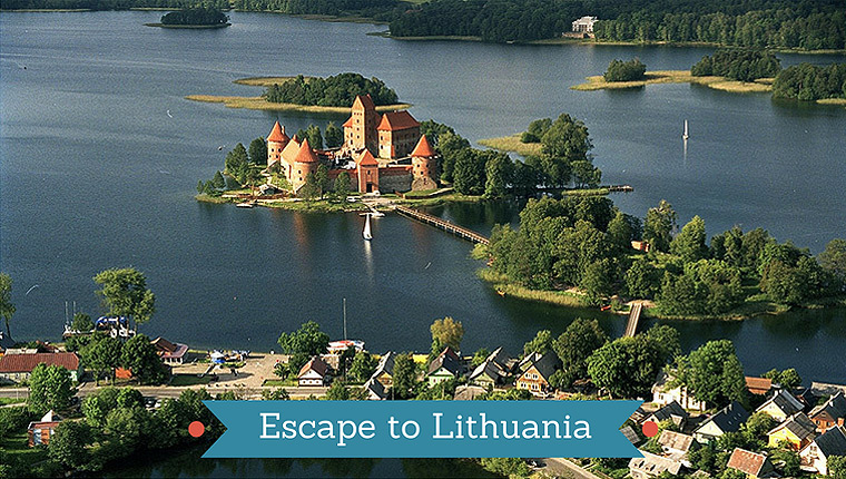 Escaping on a trip to Lithuania