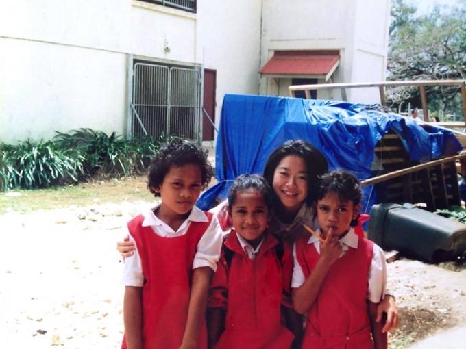 世界青年の船事業でフィジーで小学校訪問
