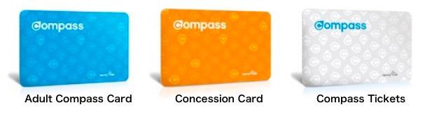 バンクーバーのコンパスカード