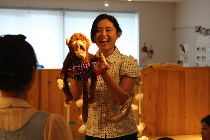草野七瀬さん:子育てにライフワークの演劇を取り入れています
