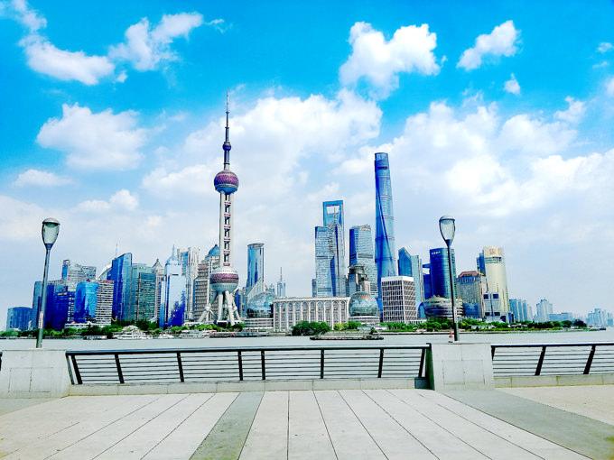 中国・上海の大気汚染対策は進んできています。