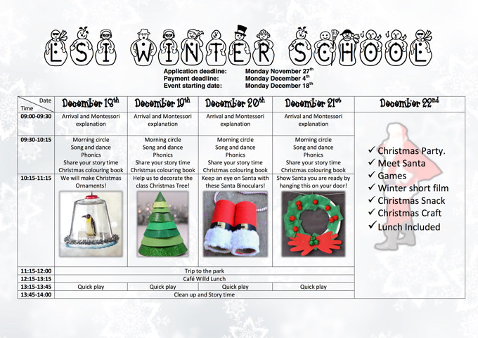 schedule_Little_Starfish_International_School_winter_school