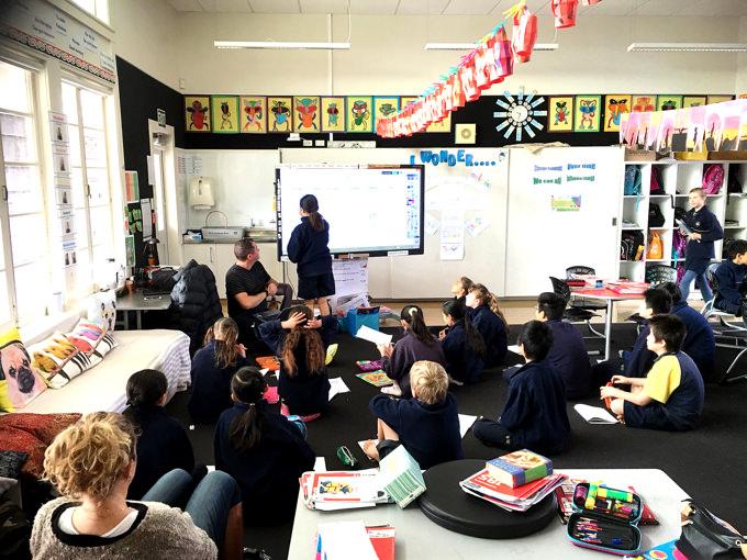 ニュージーランドの論理的思考力の伸ばす授業