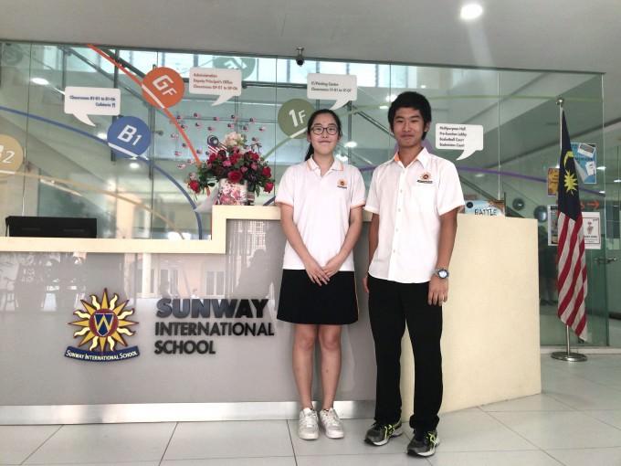 マレーシア高校留学中のインターナショナルスクール生徒達