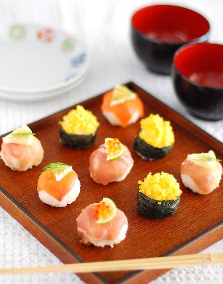 簡単手まり寿司レシピ