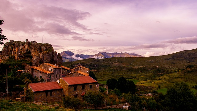 A village in Lleida in the Pyrenees