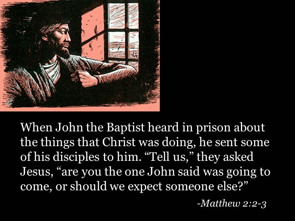 Image result for John the Baptist, in prison, pictures