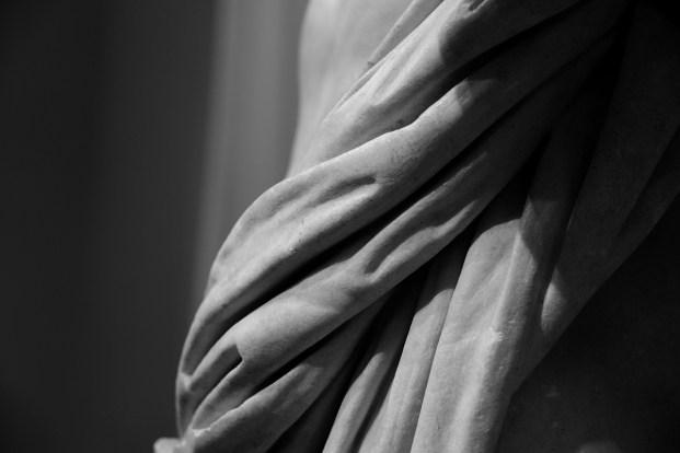 Statua di condottiero romano. Generale di Tivoli - II secolo a.C. - Particolare