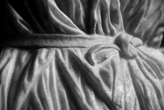 Giovanetta in vesti di Artemide - 60-79 d.C. - Particolare