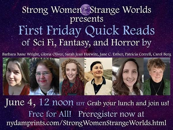 Strange Women - Strange Worlds Virtual Reading June 4th 2021