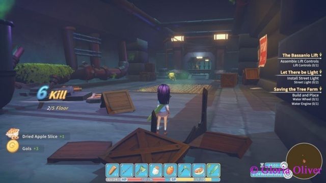 My Time at Portia - Hazardous Ruins