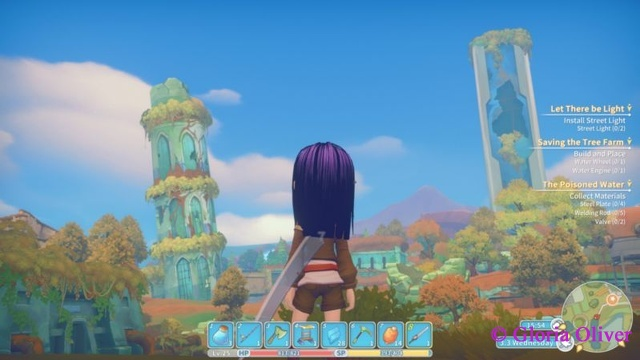 My Time at Portia - View from the Hazardous Ruins