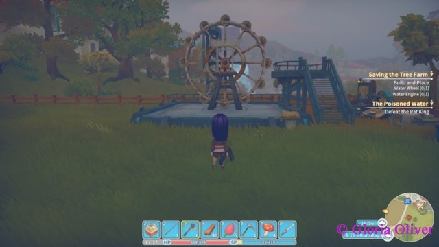 My Time at Portia - Waterwheel Assembly