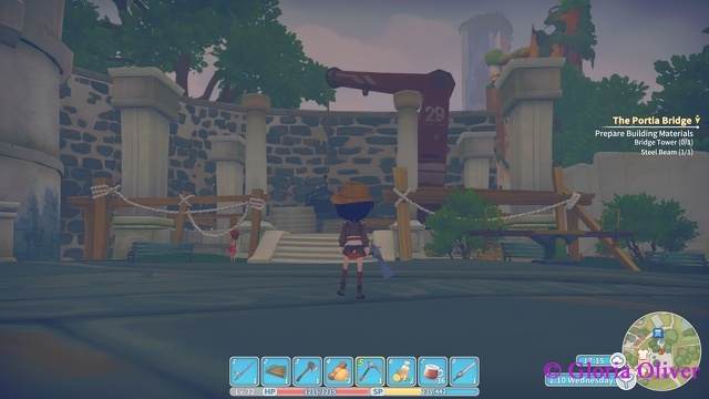 My Time at Portia - construction for the new museum
