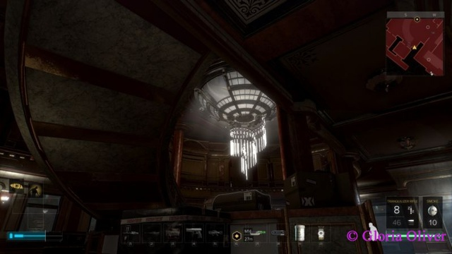 Deus Ex: Mankind Divided - chandelier