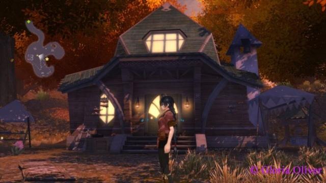 Tales of Berseria - night at village