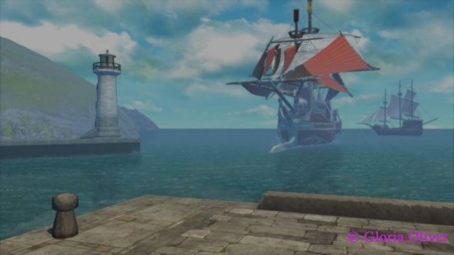 Tales of Berseria - ships coming to port