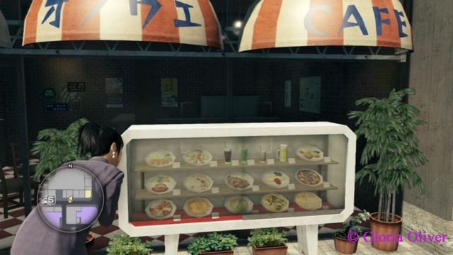 Yakuza 0 - food displau