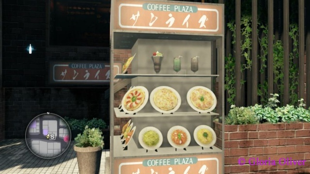 Yakuza 0 - Food Display