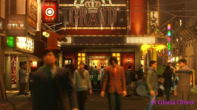 Yakuza 0 - first view of The Grand
