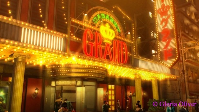 Yakuza 0 - The Grand front entrance