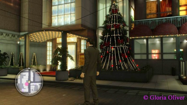 Yakuza 0 - it's Christmas!