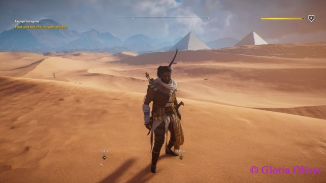 Assassin's Creed Origins - Desert and pyramids