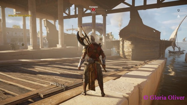 Assassin's Creed Origins - shipyard