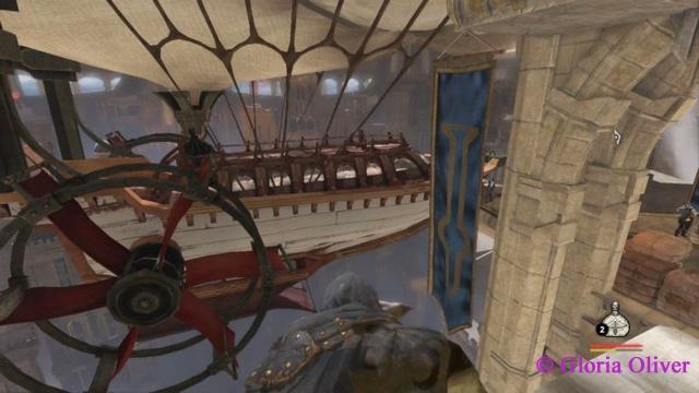 Styx: Master of Shadows - airship
