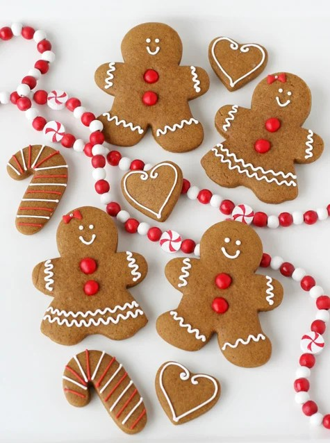 Festive gingerbread from GloriousTreats.com