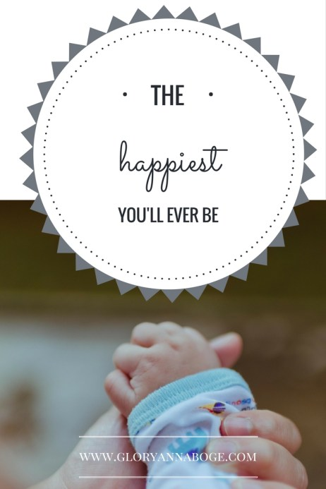 Motherhood can be so challenging. Is it really the happiest you'll ever be? Guest post.