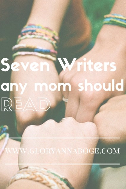Seven Mom Bloggers every mom should read.