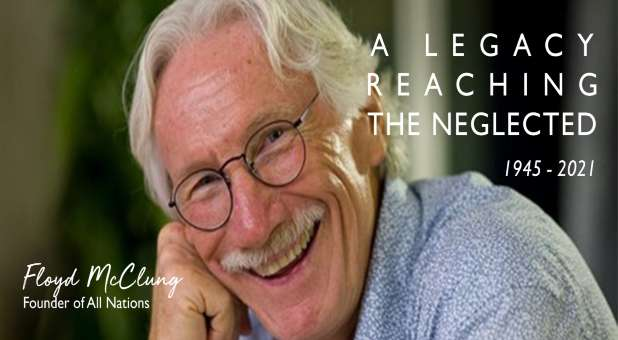 Floyd McClung, Internationale leider van zendingsorganisaties en auteur, sterft op 75-jarige leeftijd.