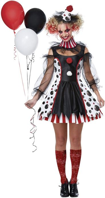 SCARY FEMALE HALLOWEEN COSTUMES