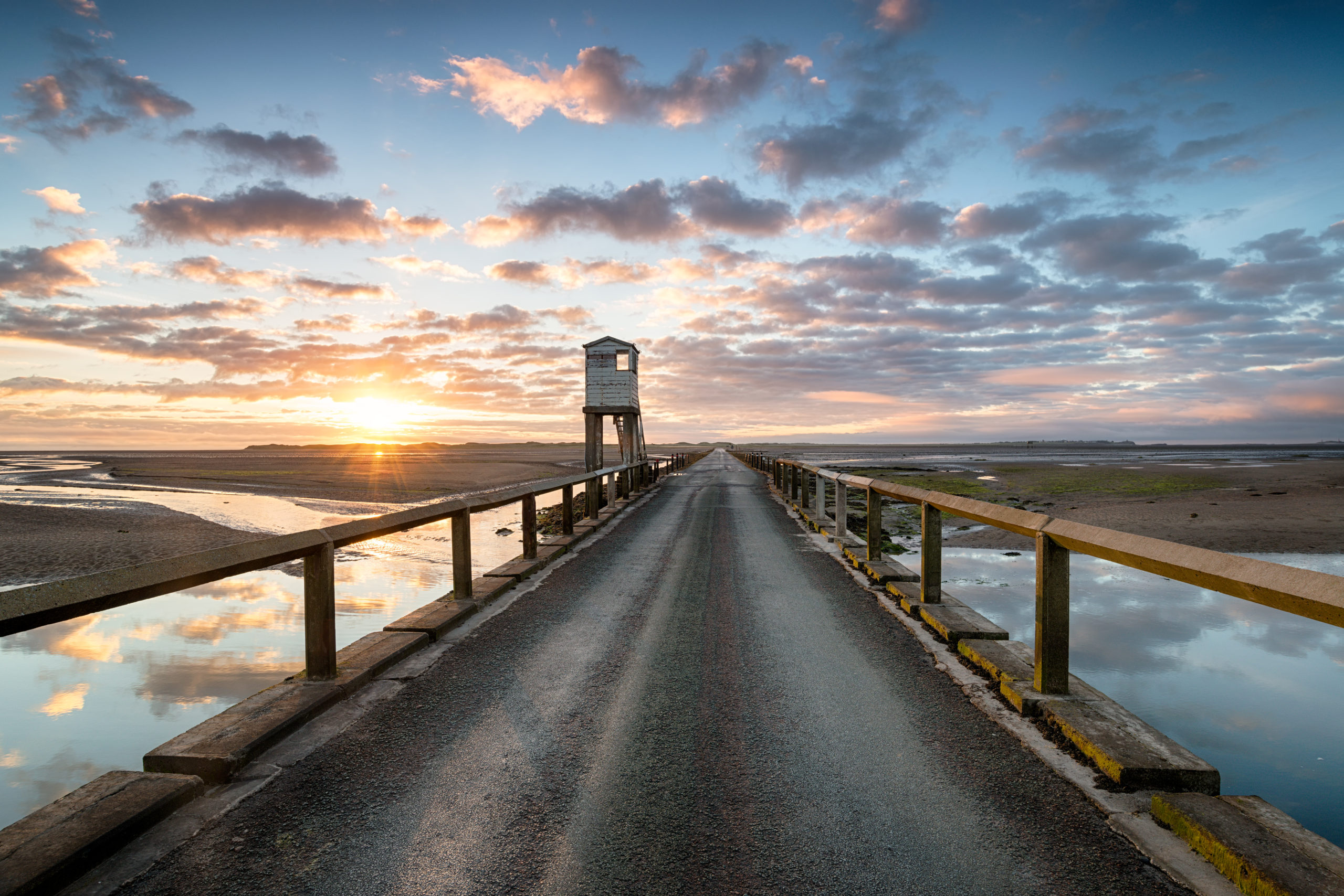 What To Do On Holy Island of Lindisfarne: causeway