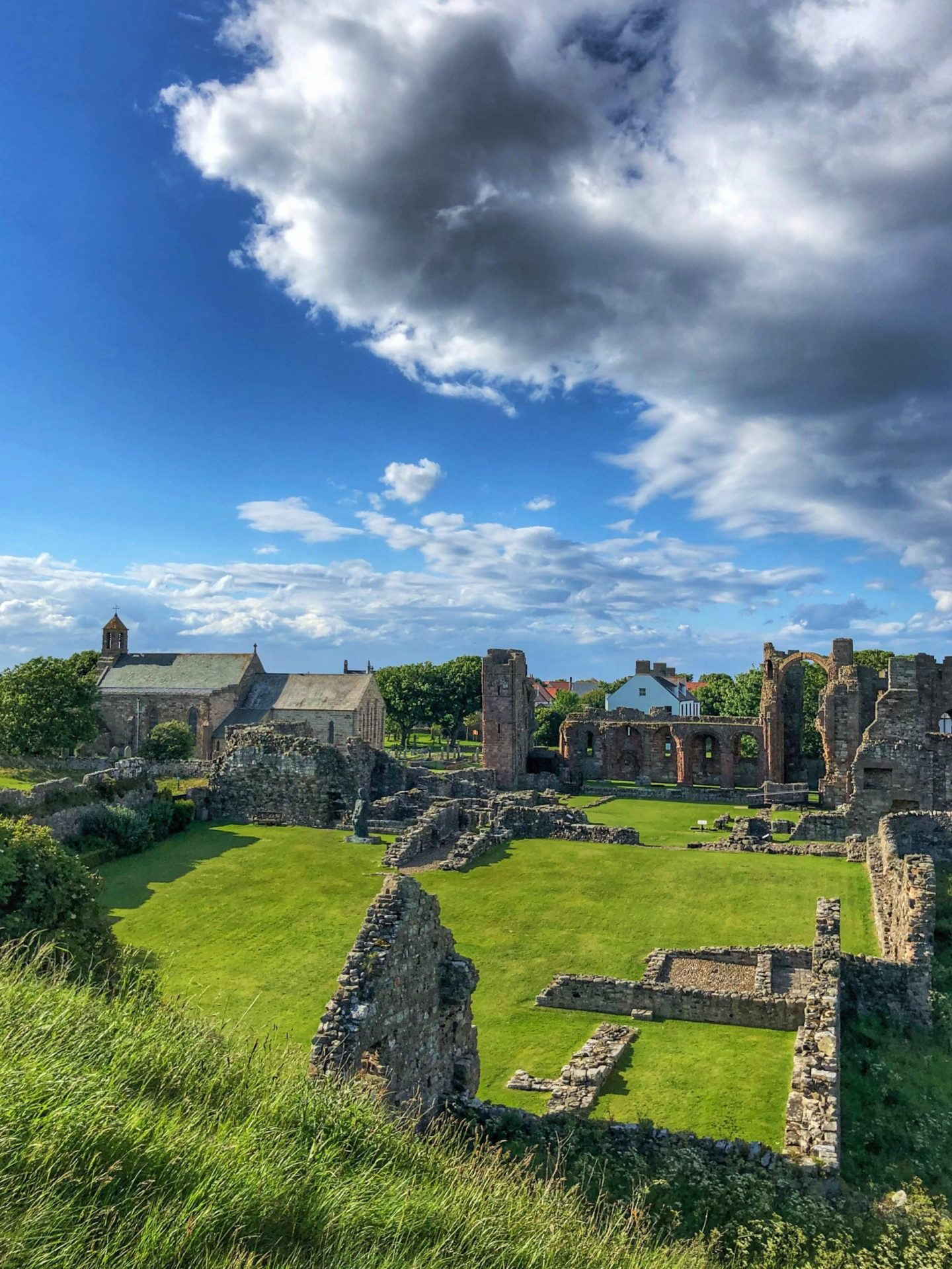 What To Do On Holy Island of Lindisfarne: Lindisfarne Priory and St Mary's Church
