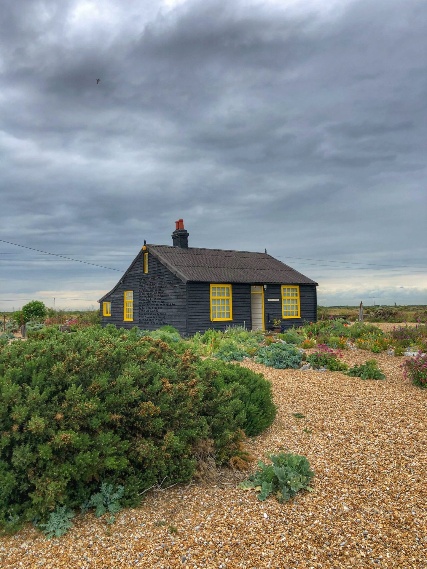 quirky architecture of Dungeness: Prospect Cottage