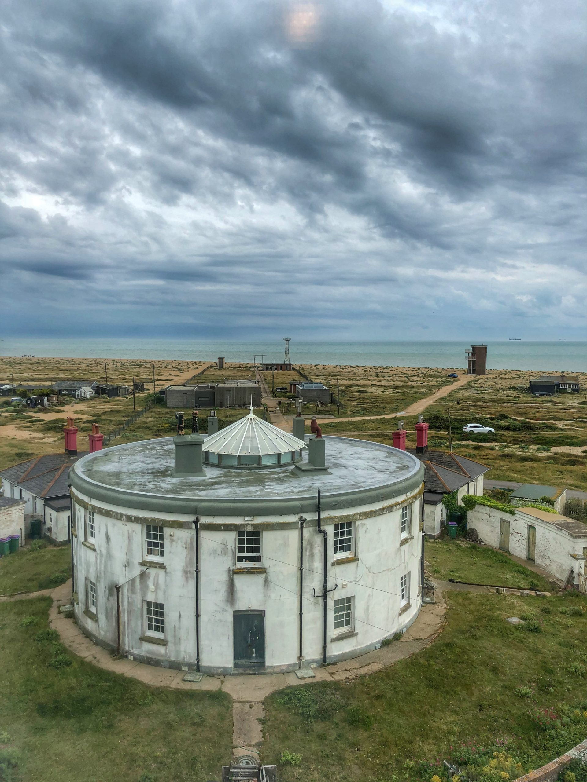 view from Dungeness Old Lighthouse