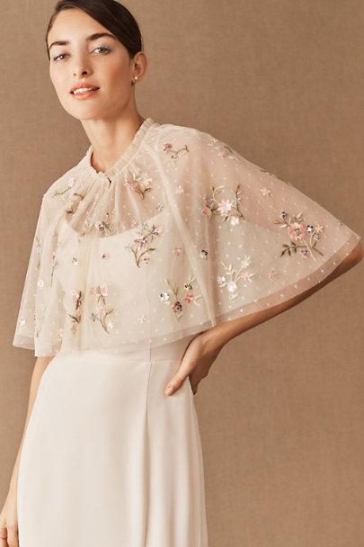 Vintage Style Wedding Dress Capelet