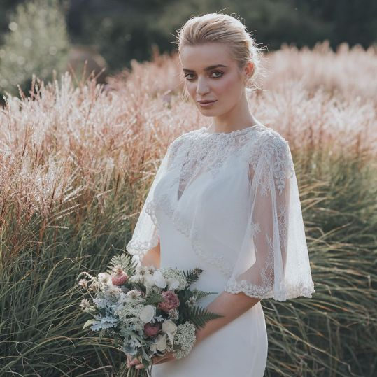 Wedding Dress Capelet
