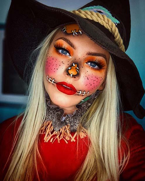 Halloween look by @hayleyshanksmakeup