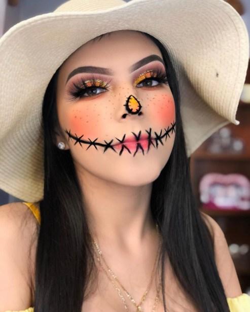 Halloween look by @addybeauty