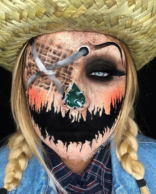 Halloween makeup by @kayleigh_ashman