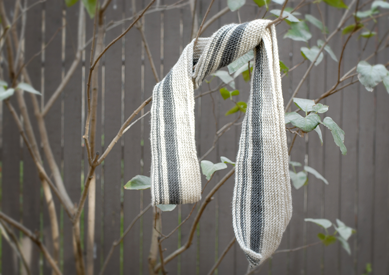 DIY Gifts For Boyfriend: Fibonacci Scarf via eat, knit & diy
